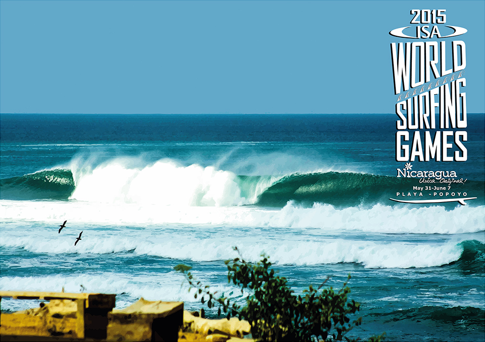 Nicaragua ist Gastgeber der ISA World Surfing Games 2015
